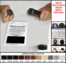 Samson Hair Building Fibers The Best Hair loss Concealer refill for all brands