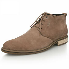 "US 5-11 Nubuck Leather Men""s Casual lace up dessert chukka Boots shoes boy  [JG]"