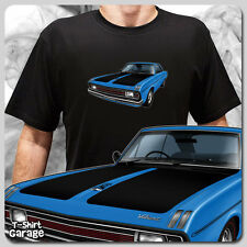 Illustrated Chrysler VALIANT VG PACER COUPE T-SHIRT - Australian Muscle Car Tee