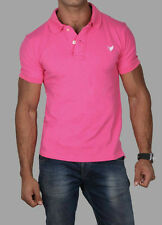 Dark Pink Polo 100% Egyption Cotton all sizes Vee Clothing NYC