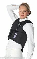 JUST TOGS MAXI FLEX BODY PROTECTOR LEVEL 3 - Unisex CHILD or ADULT Blk/Silver