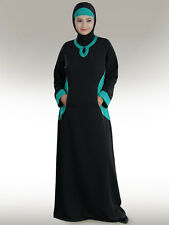 Daria Abaya Ay197 Modest Jilbab/Burqa/Hijab/ Islamic Clothing Muslim Wear Dress