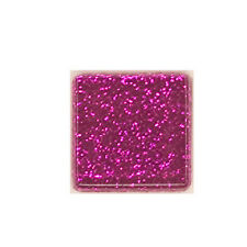 1/2 LB HOT PINK  GLITTER CRYSTAL TILES