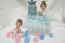 Baby Prince and Princess Baby Shower or birthday Caketopper top Centerpiece gift