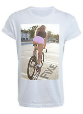 Girl shadow Fixie T-Shirt - T shirt Top Bike Bicycle Sexy Shop Man Fixed Gear