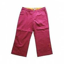Rip Curl Lipstick Baggy 3/4 Pants Womens Summer Beach Shorts Trousers - Fuschia