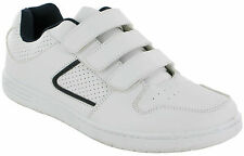 MENS ASCOT CASUAL VELCRO TRAINERS SPORTS GYM RUNNING WALKING  SHOES UK SIZES