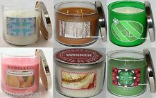Bath & Body Works CANDLE 3 wick 14.5 oz you pick scent choice EE FREE SHIPPING