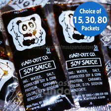 Kari-Out Chinese Soy Sauce, Individually Packed, Choice of 15,30,80,450pkts