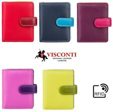 Ladies Purse Wallet Soft Real Leather Visconti New in Gift Box