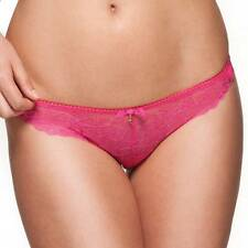 NEW GOSSARD RASPBERRY SUPERBOOST LACE THONG - SIZE SMALL 10-12 rrp £14.00
