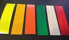 Emergency Sticker Safety Tape Reflective Decal 3M High Intensity Sheeting 3pcs