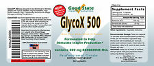 GlycoX 500 with Berberine HCL 500mg