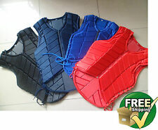 Horse Riding Safety Equestrian eventer Eventing Protective Protection Vest youth