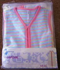 Pink Stripe Baby GIRL Sleeping Bags To Suit Size 6-18mths 18-36mths BRAND NEW!