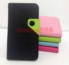 Card Holder Wallet Flip Full protect Case Cover For Nokia Lumia Mobile Phones