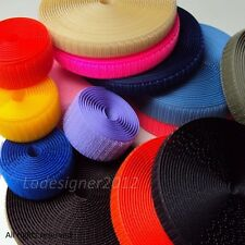 "Sew On velcro-like Hook and Loop fastener tape 5/8"",1"",2"",4"""
