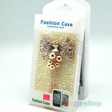WHOLESALE LOT 3D RHINESTONE CRYSTAL HEART BLING CASE COVER FOR IPHONE 4S 4