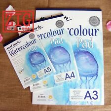 Mont Marte Watercolour A5/A4/A3 Pad 15 sheets German Paper 180gsm Medium Tooth