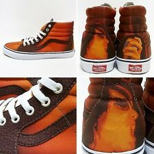 Vans SK8 HI (Custom Culture) Brown/True White Men's Skate Shoes