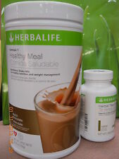 HERBALIFE Fresh Herbal Tea Concentrate 50g +Formula 1 Healthy Shake Mix 750g_SET