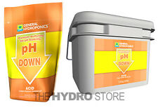 General Hydroponics pH Down DRY 2.2 lbs / 16 lbs - concentrate powder buffer