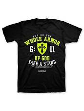 NEW KERUSSO WHOLE ARMOR OF GOD, TAKE A STAND CHRISTIAN T-SHIRT put on the