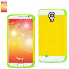 Colorful TPU+PC Case(Six Colors) And 5x Screen Protectors For Samsung Galaxy S4