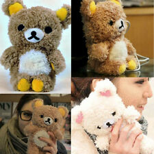 3D Cute Teddy Bear Cool Plush Toy Doll Cover Case For Apple Mobile Phone New