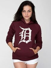 old english D detroit tigers hoodie -- american apparel