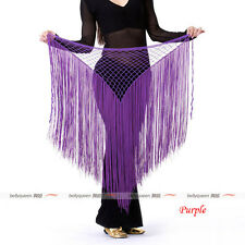 New 2013 Women's Sexy Belly Dance Costumes Dancing hip scarf wrap betl Fringes