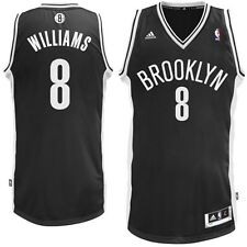 New Deron Williams # 8 Brooklyn Nets Adidas Swingman Black Youth NBA Jersey