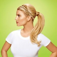 Hairdo Jessica Simpson & Ken Paves French Braid Band Synthetic Hairpiece elastic