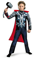 Boys The Avengers Thor Classic Muscle Chest Child Costume