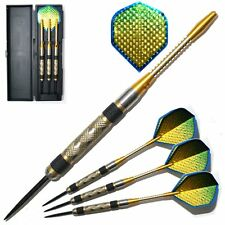 DARTS - 26,28,30 or 32g GOLDEN EYES  85% NODOR TUNGSTEN DART SET - As Pictured