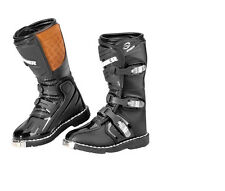 new answer fazer youth boots black multiple sizes available dirt bike motocross