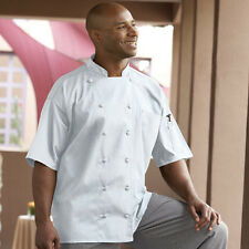 Mesh Back Short Sleeve Chef Jacket Style 0480 (White) Barbados (all sizes)
