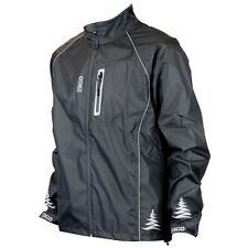 Eigo Delta Waterproof Windproof Black Reflective Jacket MTB Cycle Bike Cycling