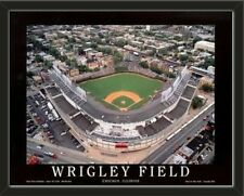 MLB Teams Aerial View Large Stadium Poster Framed-Choose Team