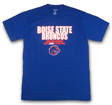ProEdge NCAA BOISE STATE BRONCOS Bronco Stadium 37,000 Fans Call Home T-Shirt