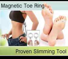 Genuine Japanese Magnetic Slimming Toe Ring Soft Silicone Slim Diet Weight Loss