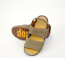 GENUINE FITFLOPS 2 BAR GOGH FAR BUCKLE SANDALS (KIDS) UNISEX 'SHITAKE'