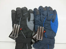 MENS THINSULATE FLEECE LINED GLOVES IN TWO COLOURS
