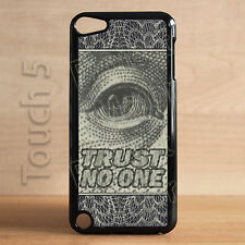 Fits Apple iPod Touch 5th Gen Trust No one Nobody Conspiracy Case Cover Dope