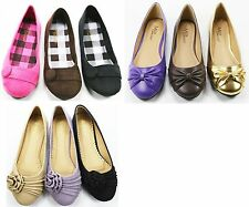 New Max Collection Medium Women Fendy Ballet Flat Shoes All Size