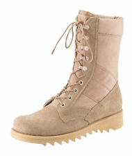 "Jungle Boot 10"" Desert Tan  GI Type Ripple Sole Rothco 5058"