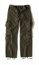 Rothco 2786 Olive Drab Vintage Military Paratrooper Tactical BDU Fatigue Pants