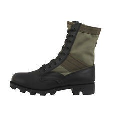 Rothco 5080 Olive Drab Leather Military Jungle Boots