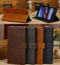 Deluxe Leather Card Flip Wallet Stand Case Cover For SONY Xperia Z Ultra XL39H