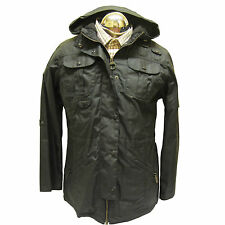 Ladies Barbour Winter Force Parka Waxed Waterproof Jacket LWX0066CH71